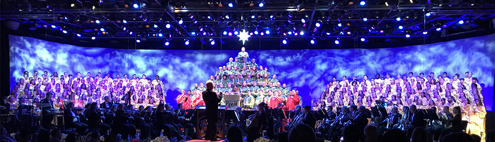 Candlelight Processional at WDW Epcot Center 12/22/2017