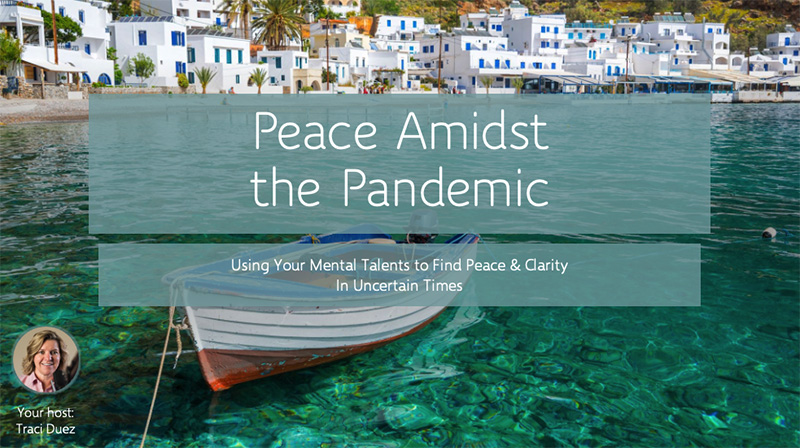 Find Your Peace in Turbulent Times